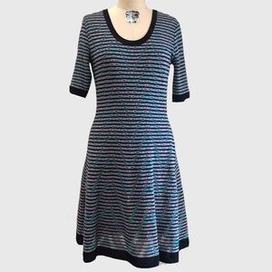 Missoni Knit Dress Round Neck